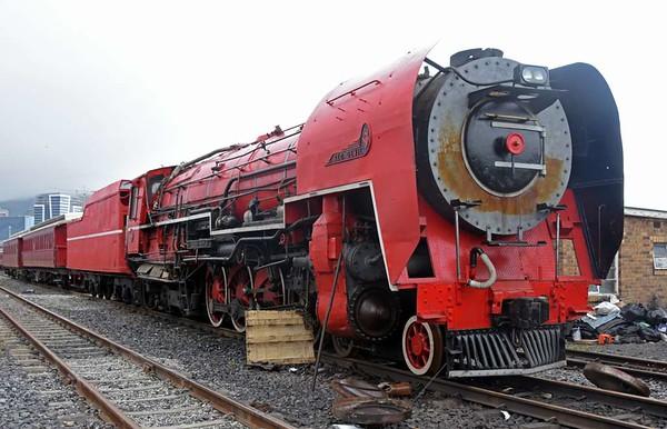 Transnet No 3450 Red Devil, Cape Town docks, 14 September 2018 18.