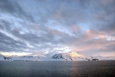 Antarctica dawn