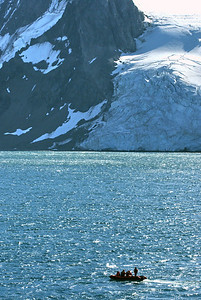 Polish zodiak and Antarctica landscape