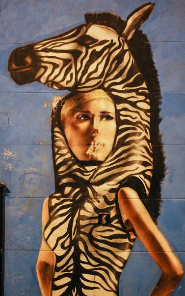 Giraffe Lady