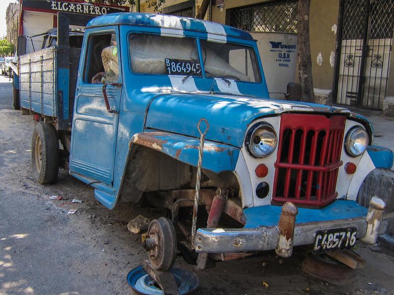 Truck, La Boca.