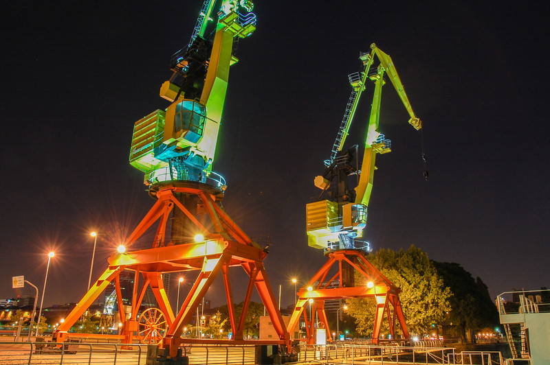 Cranes Puerto Madero