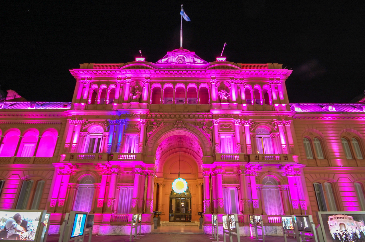 The Casa Rosada is the executive mansion, officially Casa de Gobierno.