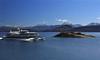 Lake Nahuel Huapi with Isla Victoria Catamaran<br /> Bariloche, Argentina