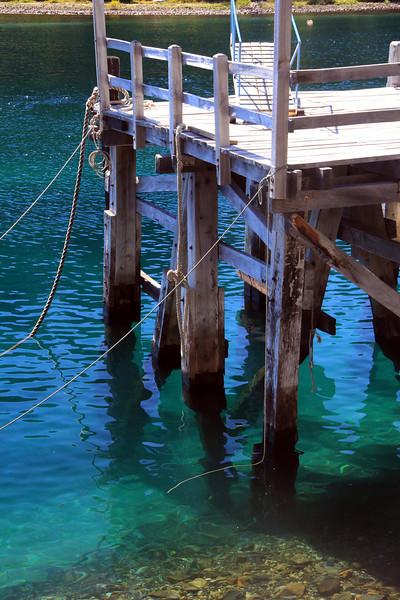 Old Dock at Puerto Pañuelo, Lake Nahuel Huapi