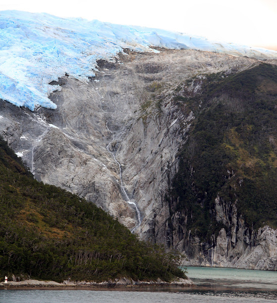 Romanche Glacier, Glacier Alley