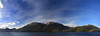 Beagle Channel -Glacier Alley, Evening, Panorama