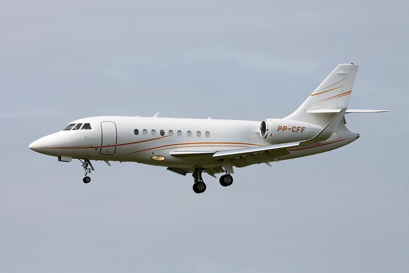 PP-CFF Dassault Falcon 2000 c/n 110 Zurich/LSZH/ZRH 08-09-17