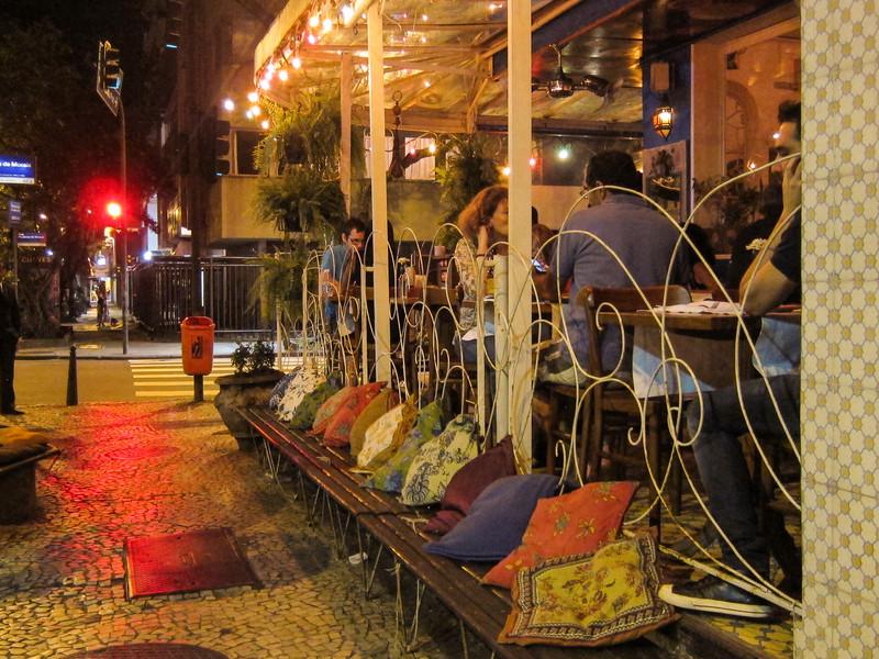 IMG_0022<br /> Restaurant in Ipanema.