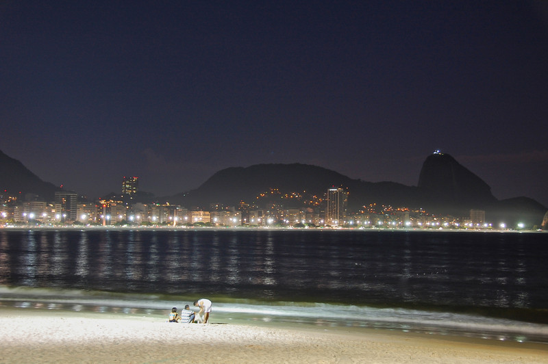 DSC_0350<br /> Copacabana at night.