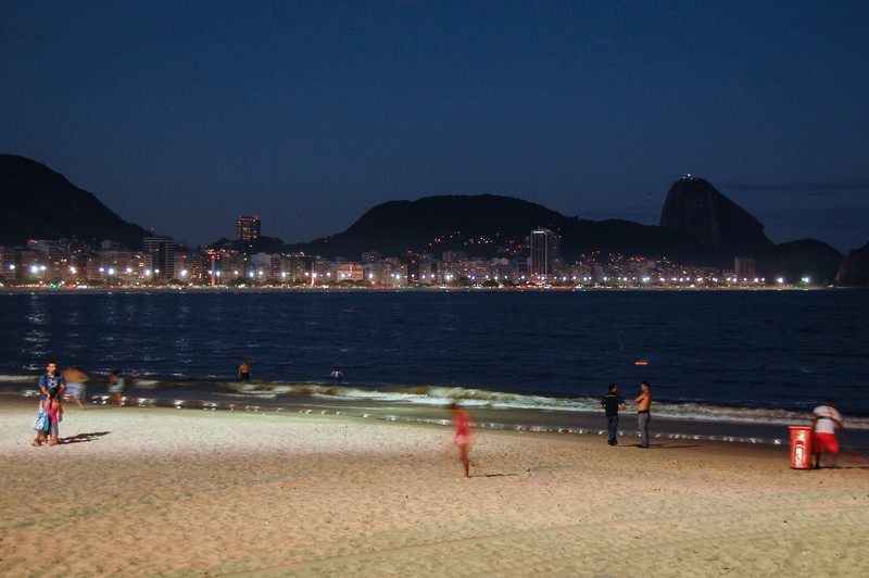 DSC_0337<br /> Copacabana at night.