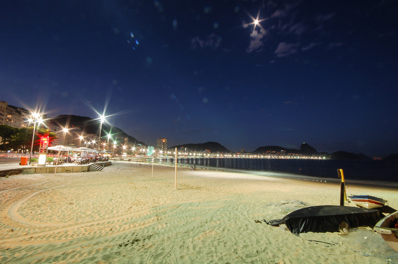 DSC_0342<br /> Copacabana at night.