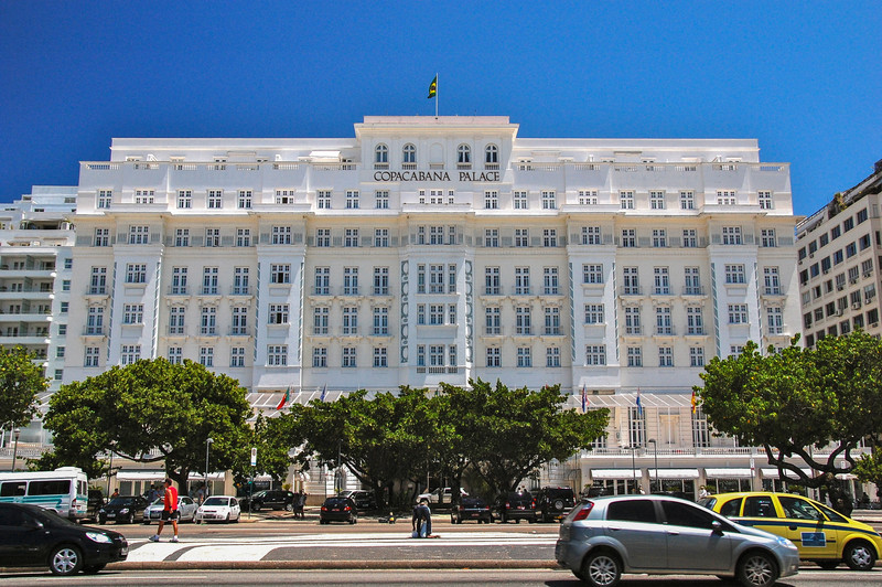 DSC_0236<br /> The famous Capacabana Palace Hotel.  If Lucy and Ricky went to Rio, this is where they would have stayed.