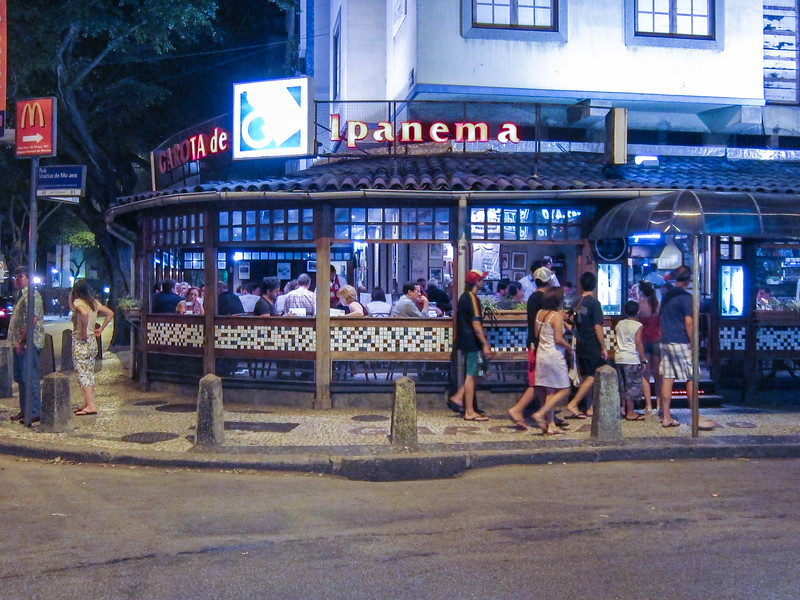 IMG_0070<br /> The famous Garota de Ipanema restaurant.