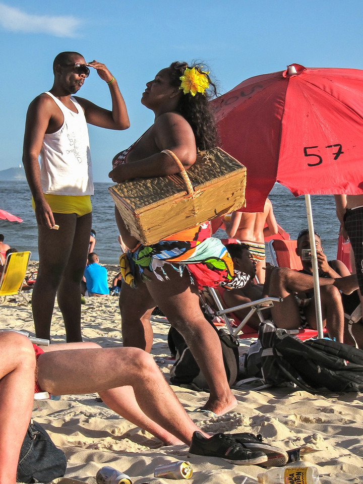 IMG_0004<br /> Sandwich Lady, Ipanema.