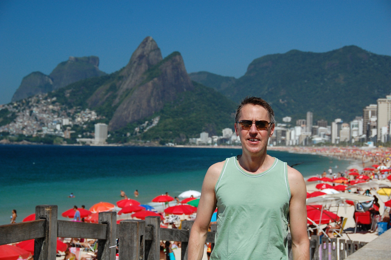 DSC_0177<br /> Tom at Ipanema.