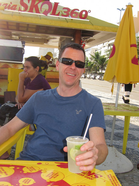 IMG_0042<br /> Me having the first caipirinha if the trip!