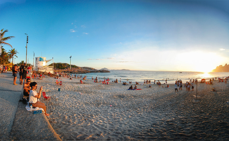 IpanemaPan3_edited-5<br /> Ipanema at sunset.
