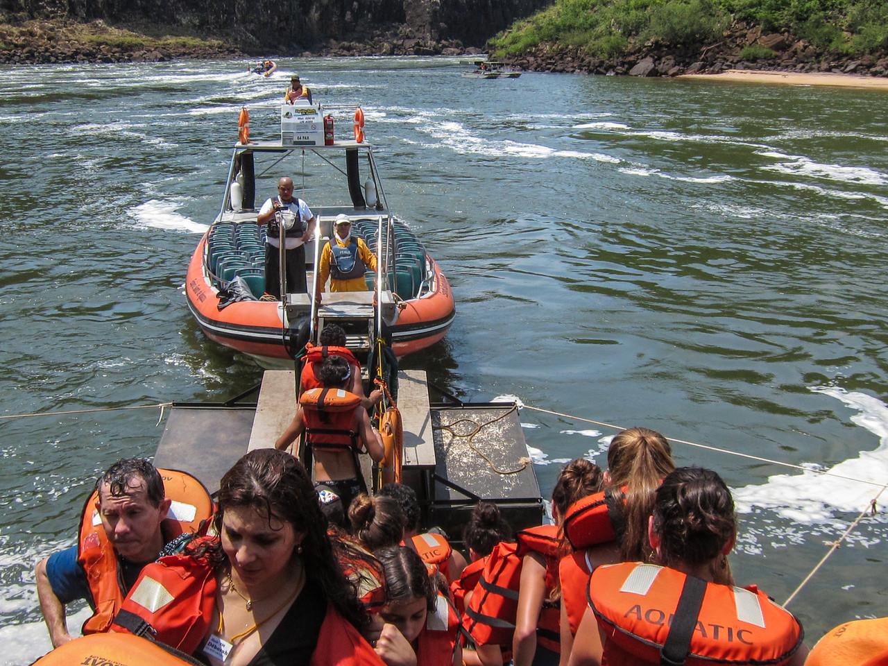 Jet boat tour.