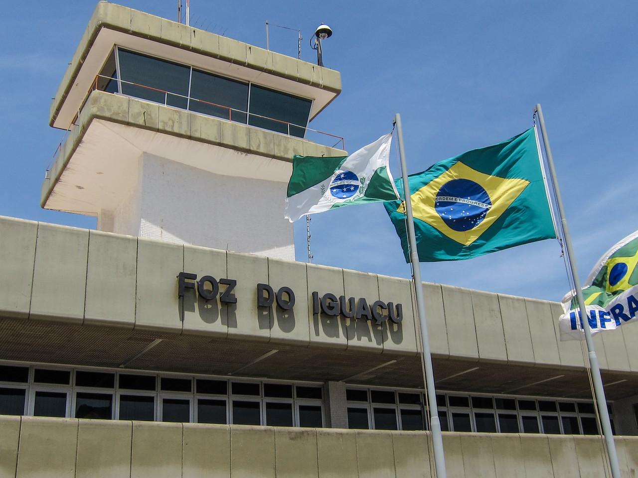 Fos do Iguacu Airport, Brazil.