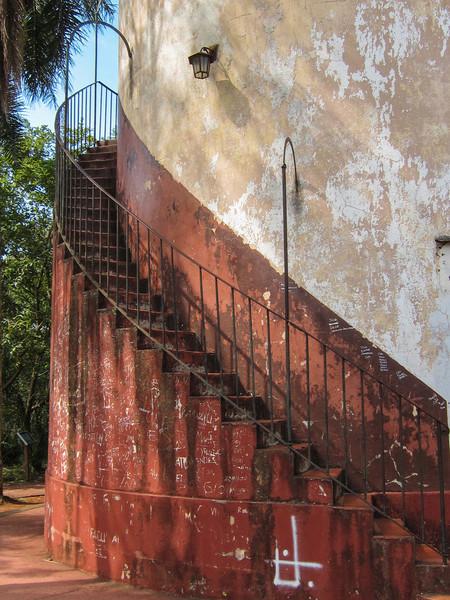 Lighthouse steps.