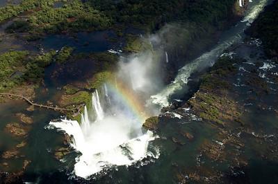 Iguassu falls. Brazil Rio De Janeiro Brazil