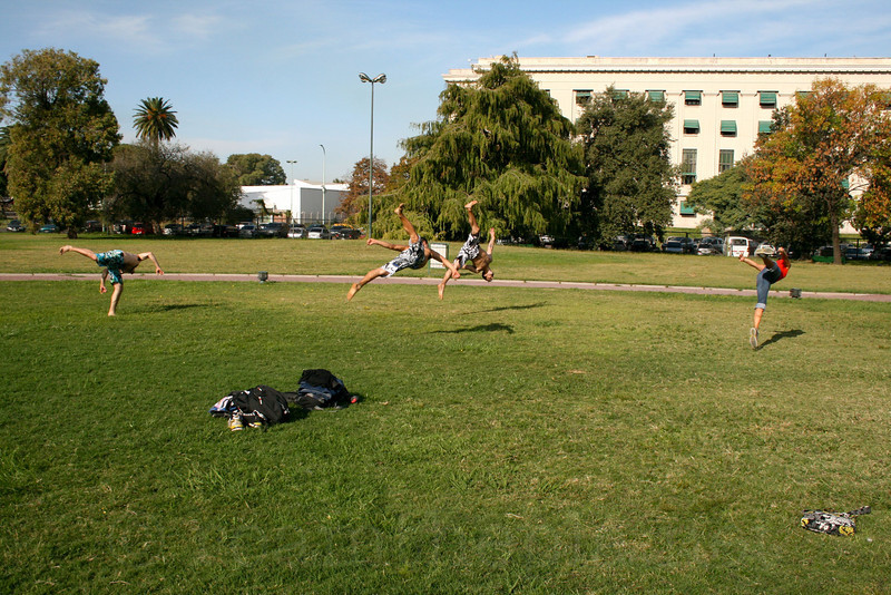 Acrobatics in the Park