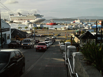 Star Princess docked in Ushuaia, Argentina.