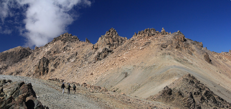 Cathedral Ridge Panorama