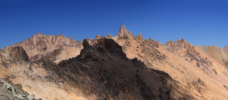 Catedral Ridge Spires Panorama