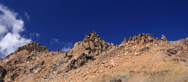 Cathedral Ridge Spires Panorama