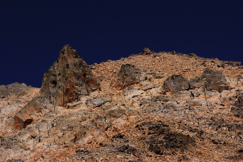 Cathedral Mountain's Rugged Peak