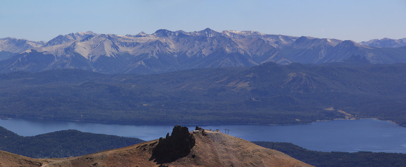 Lago Nahuel Huapi from Cathedral Mountain