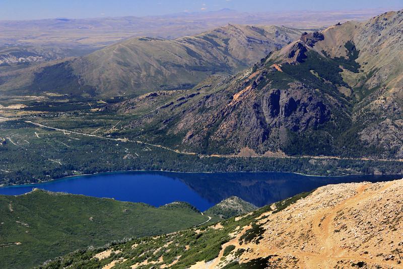 Lago Gutierrez from Cerro Catedral