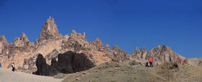 Catedral Ridge Spires Panorama