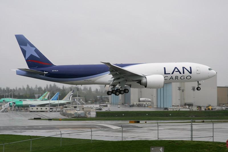 N774LA Boeing 777-F6N c/n 37710 Everett-Paine Field/KPAE/PAE 06-05-09