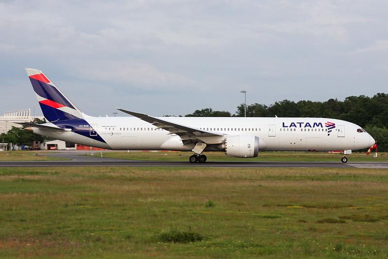 CC-BGE Boeing 787-9 c/n 38478 Frankfurt/EDDF/FRA 04-06-17