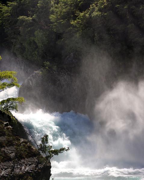 Rio Petrohué Falls and Mist
