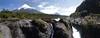 Rio Petrohué Falls.  Mt Osorno Beyond