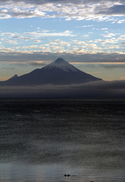 Volcán (Volcano) Osorno at Dawn
