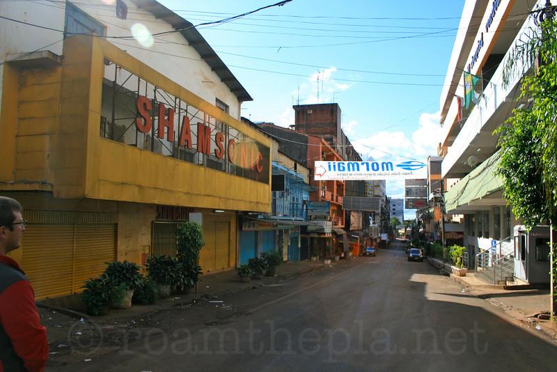 Street in Ciudad Del Este