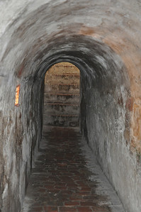 inside the Castillo de San Felipe de Barajas