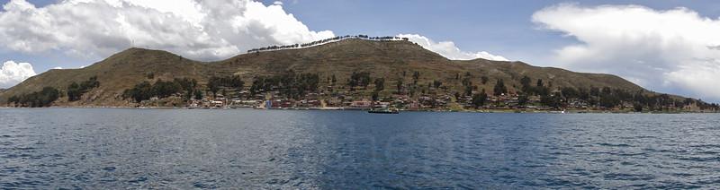 On route to La Paz, Bolivia