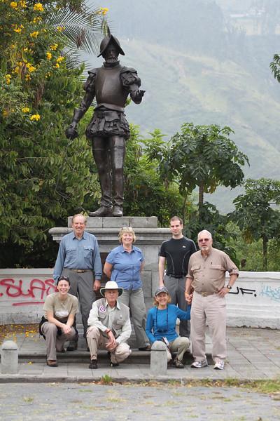 Photo Op in Quito, Ecuador