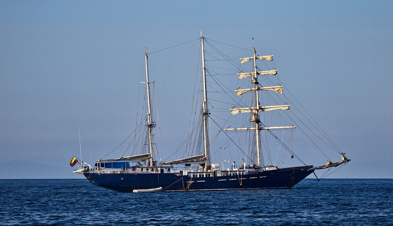 This is how to sail the Pacific, especially with a stop over in the Galapagos Archipelago.