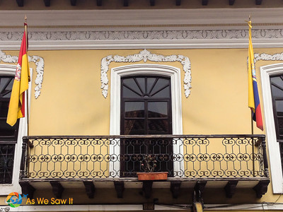 The woodwork above this door caught my eye as the white against the yellow  showed the carving nicely.