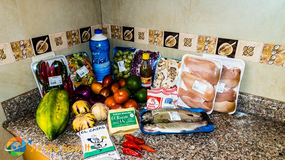 Cheap Cuenca food , under $20