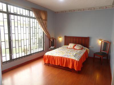 Master bedroom in El Centro apartment