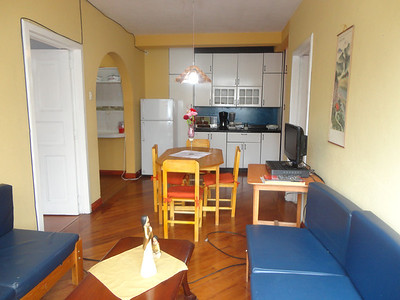Our first apartment in Cuenca's El Centro