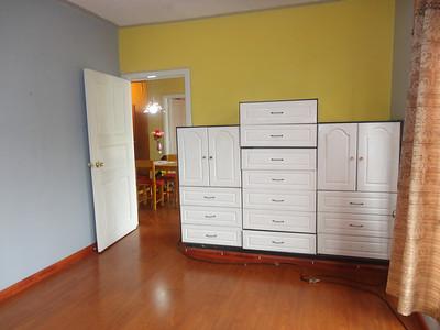 Cabinets in master bedroom, El Centro Cuenca apartment